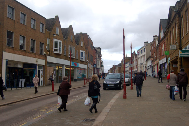Daventry: up the High Street