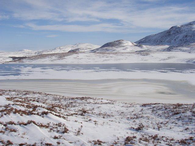 Frozen Loch na h-Airbhe