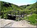 SN9295 : Footbridge over the Afon Cledan by Oliver Dixon