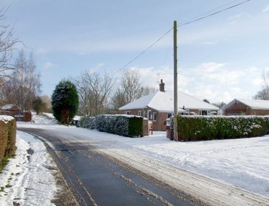 TF3565 : Church Road, Old Bolingbroke by Dave Hitchborne