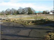 SZ0795 : East Howe, school site by Mike Faherty