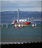 J5182 : The 'Red Duchess' off Bangor by Rossographer