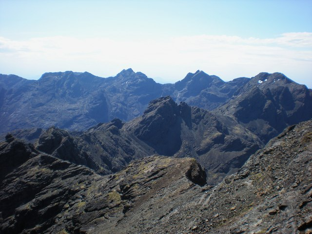 Bidein Druim nan Ramh, Cuillin Ridge