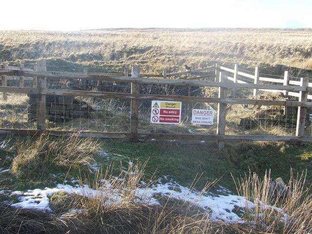 Disused mine, Turton Moor