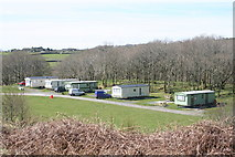 SH6129 : Dinas Caravan Park and Camping by Einir Pritchard