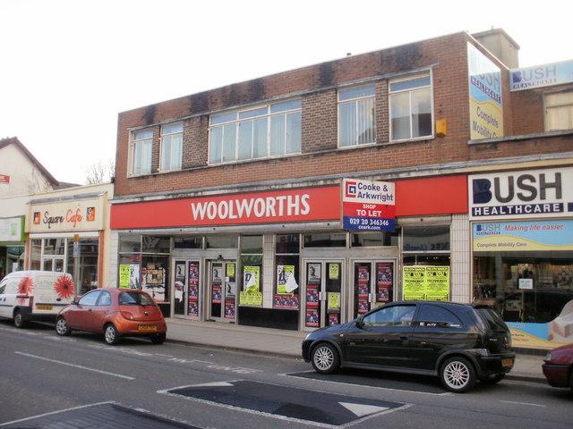 Former Woolworths store, Blackwood