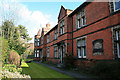 SK5741 : Lambley Almshouses by David Lally