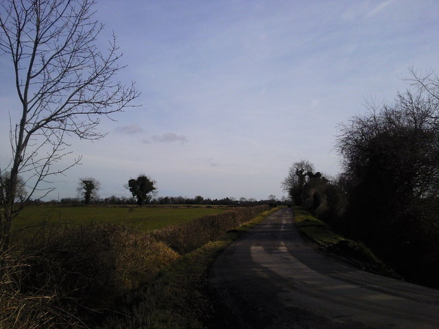 Fieldscape and Road, Co Meath