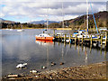 NY3703 : Windermere; Waterhead by David Dixon