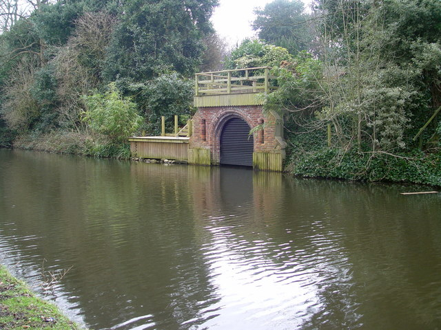 Boathouse On The Lancaster Canal