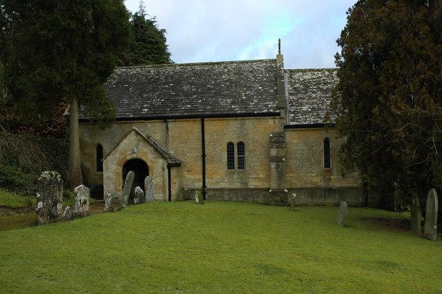 Charlton Abbots Church