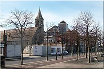 O1634 : View Westwards along City Quay by Eric Jones
