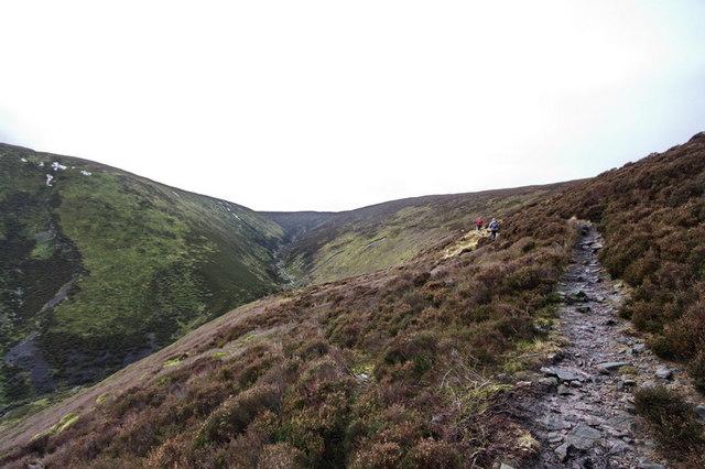 Ascending To Fiendsdale Head