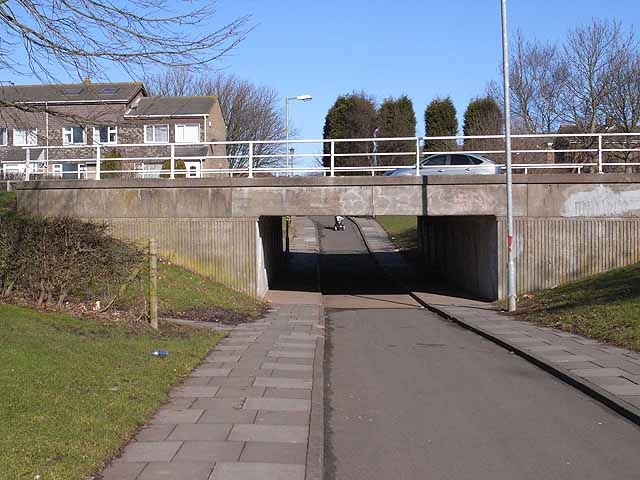 Cycleway underpass under Northumbrian Road
