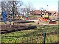 NZ2676 : Playground, Cramlington by Oliver Dixon