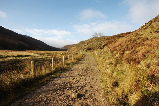 Track In Langden Valley