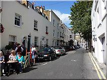 TQ2879 : Kinnerton  Street, London SW1 by Chris Gunns