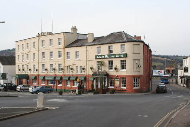 The Great Western Hotel at St David's
