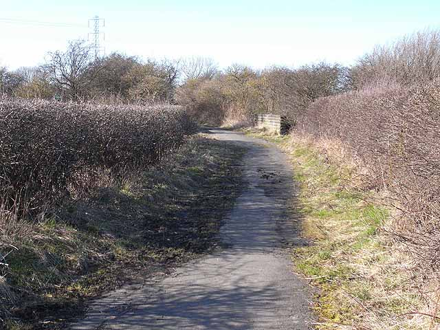 Reiver's Cycle Route, Backworth