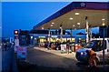 TQ2288 : Texaco Service Station by Martin Addison