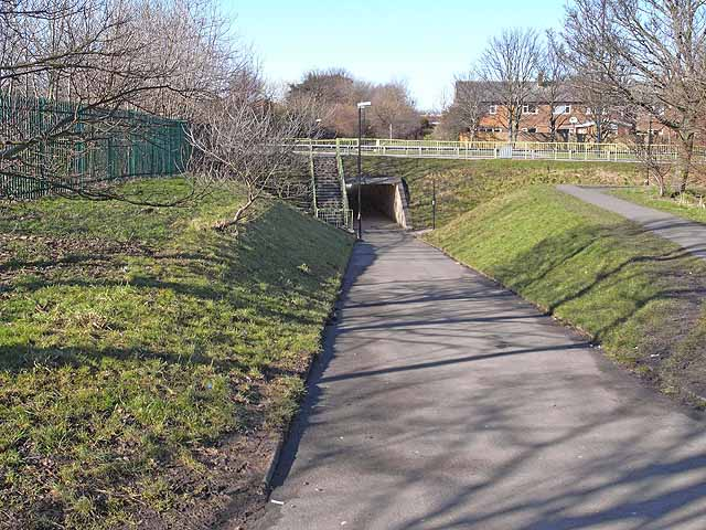 Underpass on the Monkseaton Waggonway