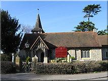 TQ1863 : St Mary's Church Chessington by Alex McGregor
