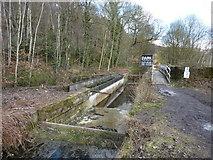 SK3155 : Aqueduct under repair by Peter Barr