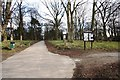 NZ4818 : Linthorpe Cemetery  from Nursery Lane by Philip Barker