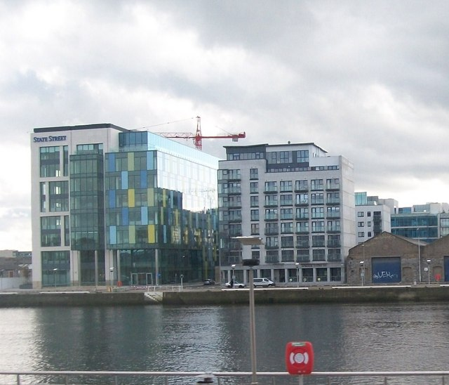 Office blocks  at the eastern end of Sir John Rogerson's Quay