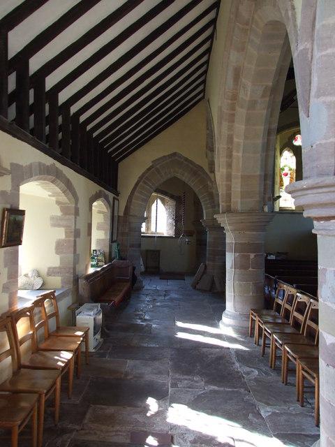Inside St Peter's Stoke Bliss