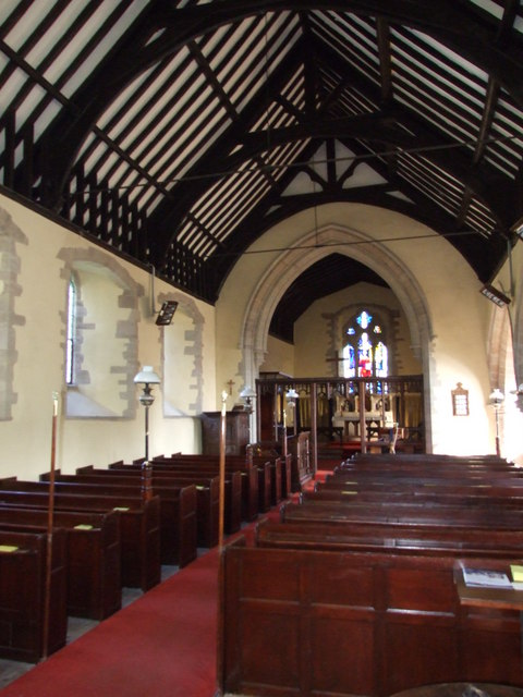 The Nave, St Peter's Church,  Stoke Bliss