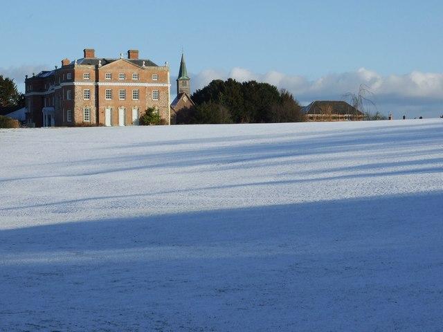 Kyre Park in the Winter