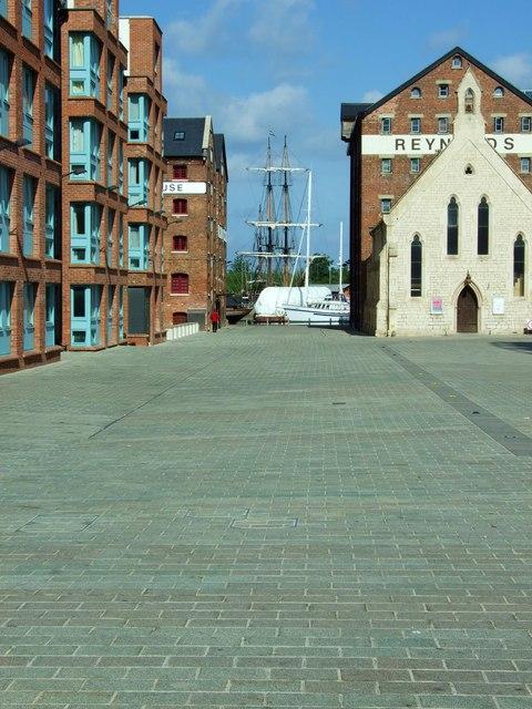 Scenes from Gloucester Docks