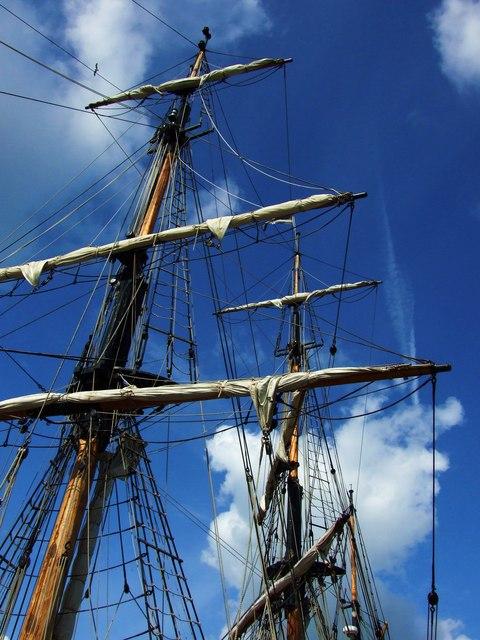 Tall Ships Visit Gloucester Docks
