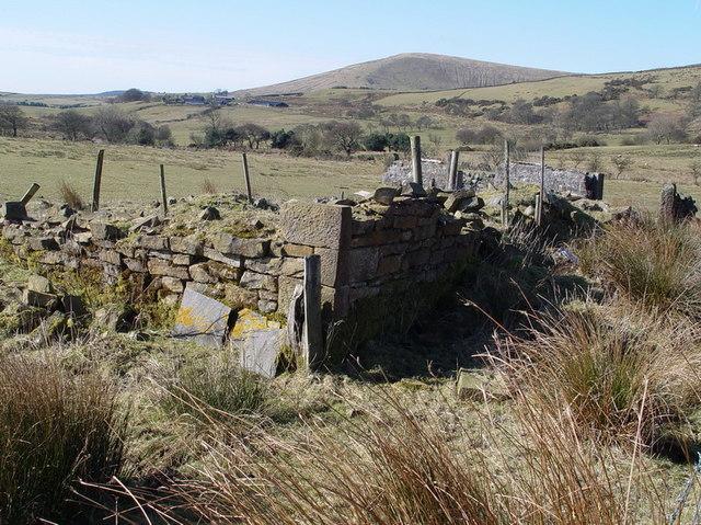 High Barn Ruins