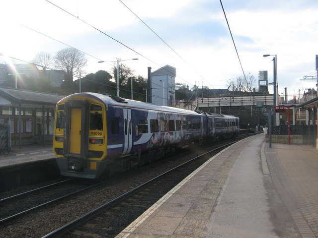 Carlisle Train at Shipley