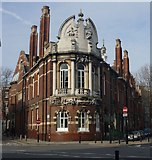 TQ3182 : Finsbury Town Hall by Julian Osley