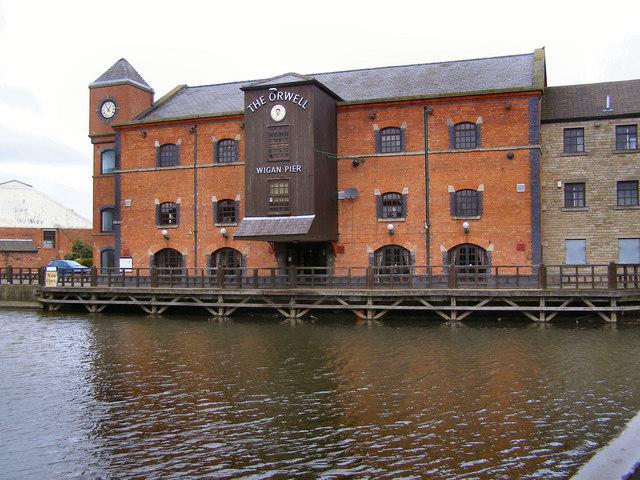 The Orwell, Wigan Pier