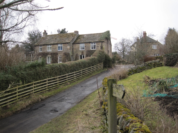Houses at Whitley Mill