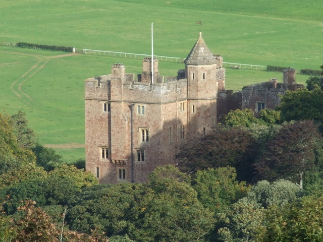 Dunster  Castle Taken from the Moors