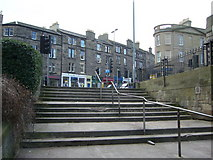 NT2774 : Steps in Lady Menzies Place, Abbeyhill by kim traynor