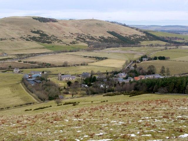 Kirknewton from West Hill