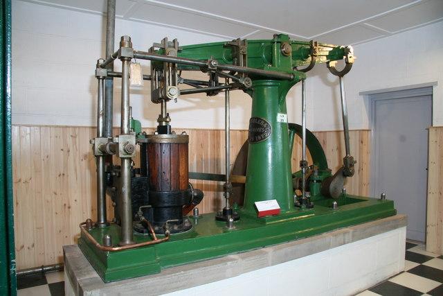 Anson Museum, beam steam engine