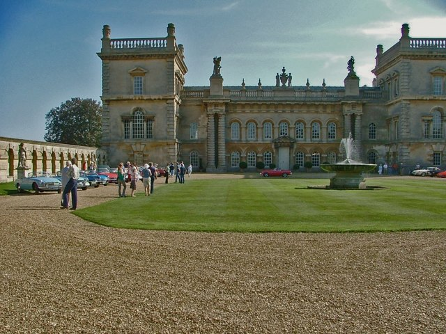 Looking across the Courtyard at the rear of Grimsthorpe Castle