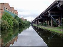 SP0990 : Birmingham and Fazeley Canal near Gravelly Hill, Birmingham by Roger  Kidd