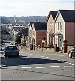 ST3288 : Leicester Road, Newport by Jaggery