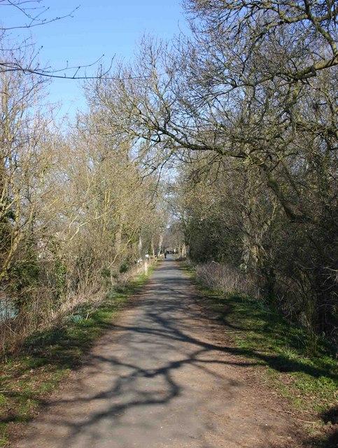 The old Stratford and Moreton Tramway walk, Stratford-upon-Avon
