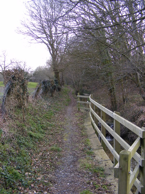 Footpath to Bruisyard Road