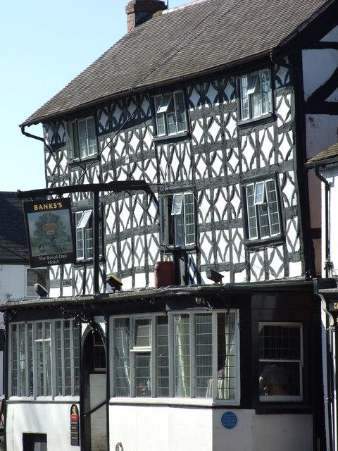 The Royal Oak on Market Street Tenbury Wells