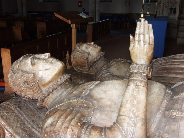 Inside St Mary's Church Tenbury Wells